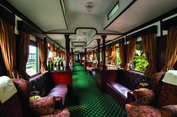 Guest carriage Rovos Rail.